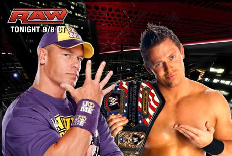 John cena vs. the miz: over the limit 2011 - wwe - hd wallpapers
