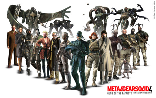 wallpaper gamer. Game BLARG: Metal Gear Solid 4
