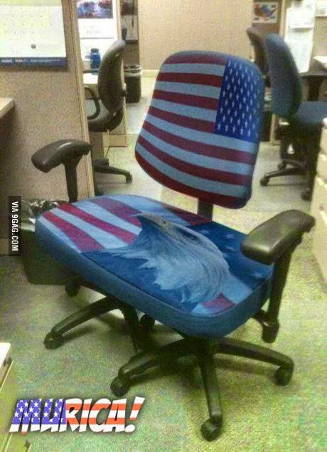 Murica Big Ass Chair