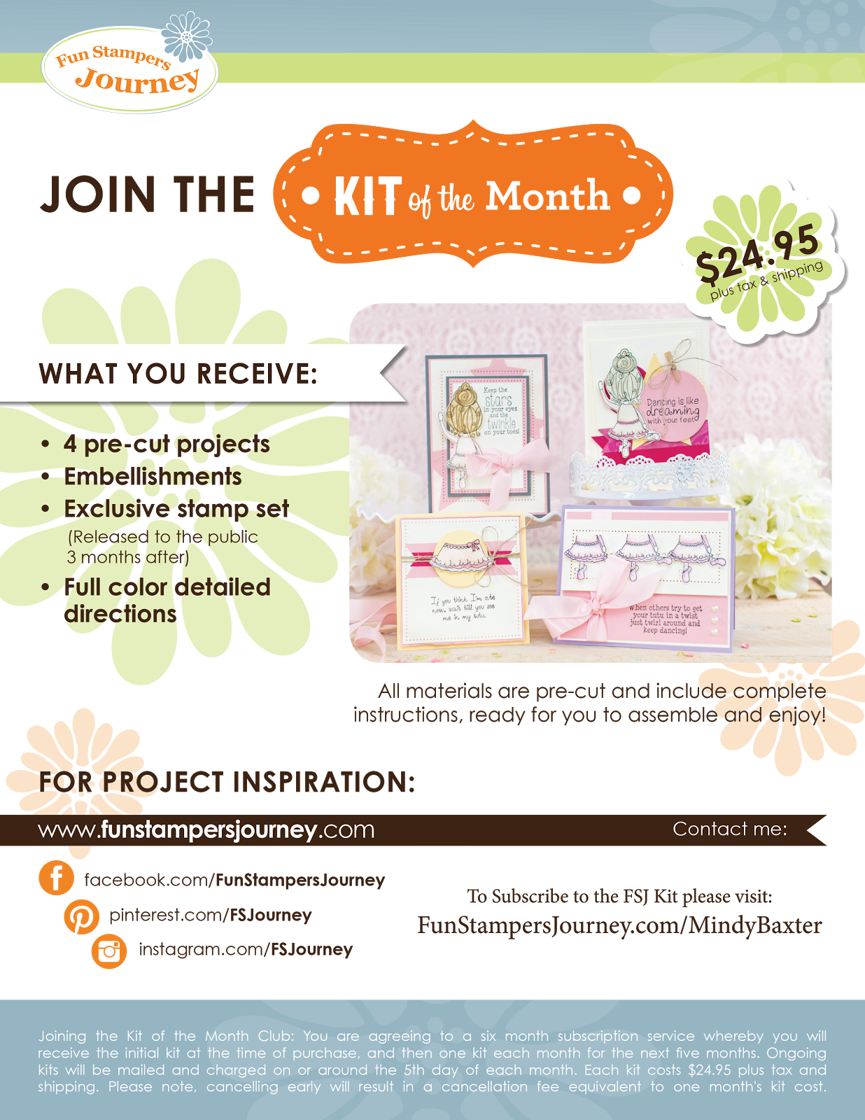 Fun Stampers Journey Kit of the Month