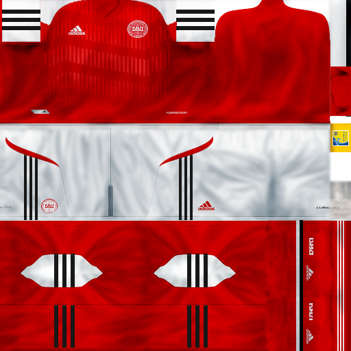 Kits Denmark EURO 2012   PES 6