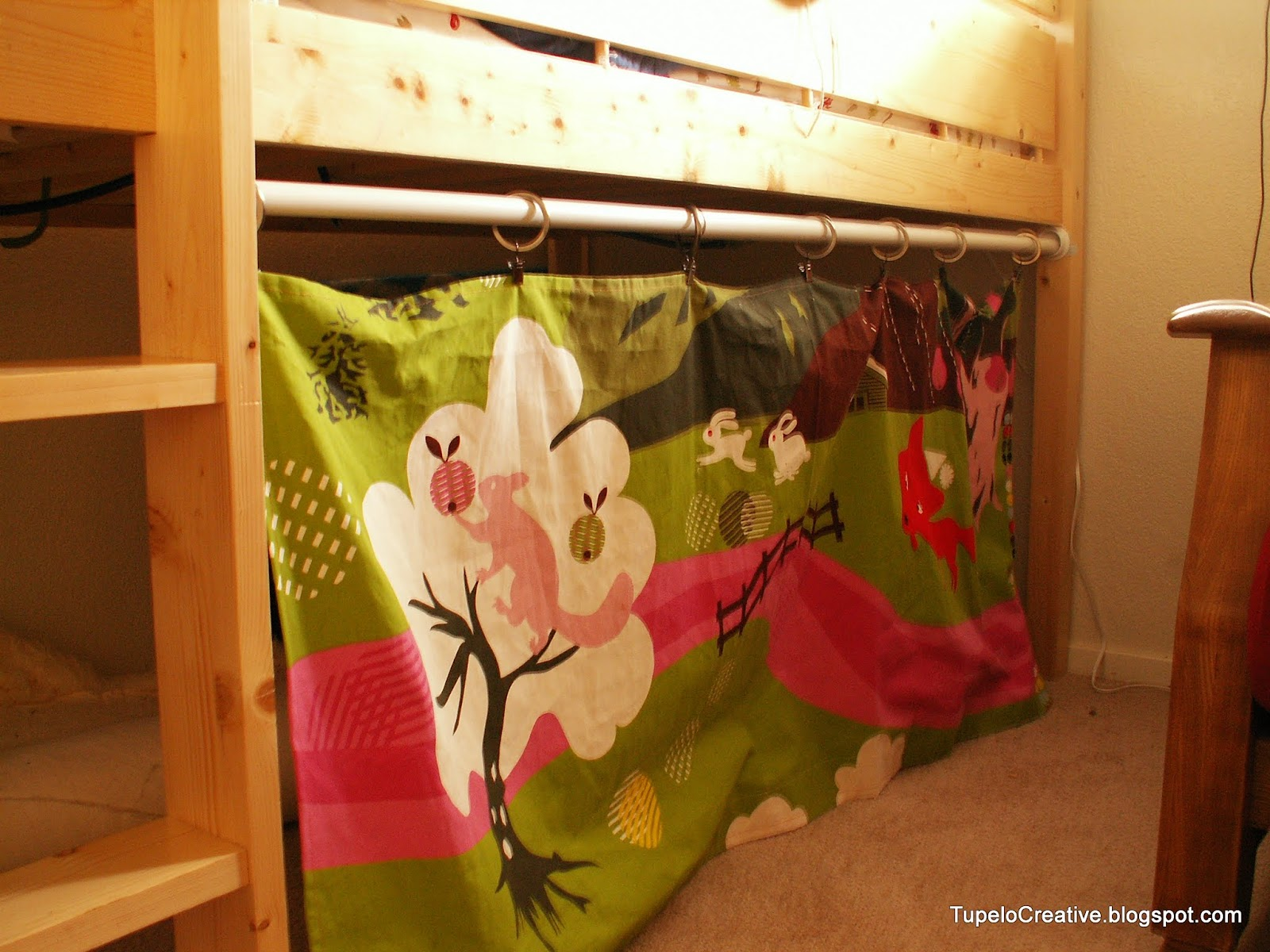 How I Made The Loft Bed Hideout Tupelo Creative