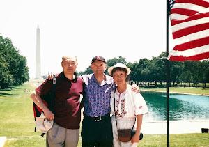 2001.7,与海曼和罗文在华盛顿。