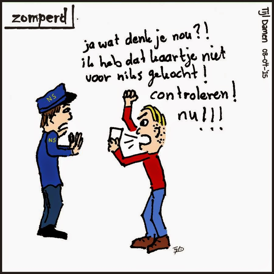 Zomperd: protest conducteurs