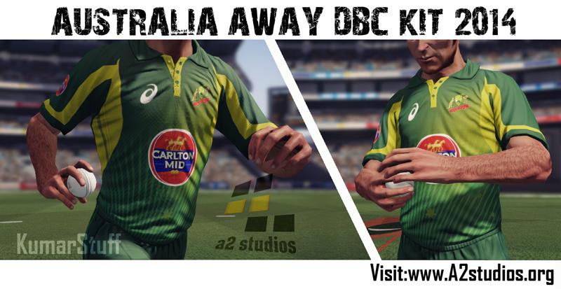 Australia 2014 Australia Odi Home Kit 2014