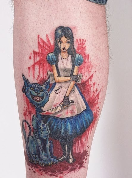 Alice Madness Return Tattoo