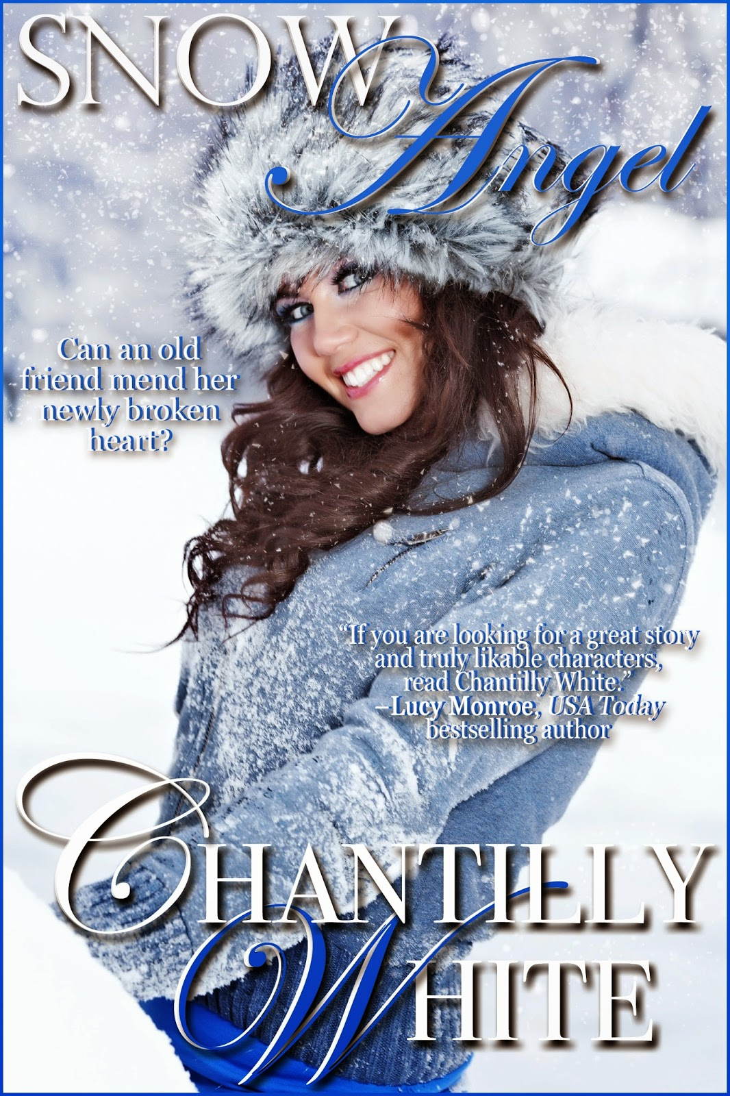 Snow Angel by Chantilly White