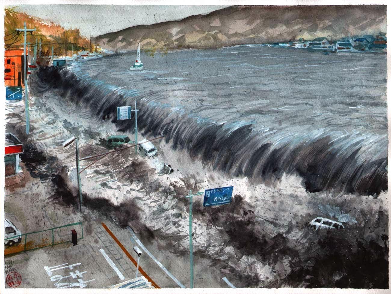 Tindakan Saat Terjadi Gempa dan Tsunami