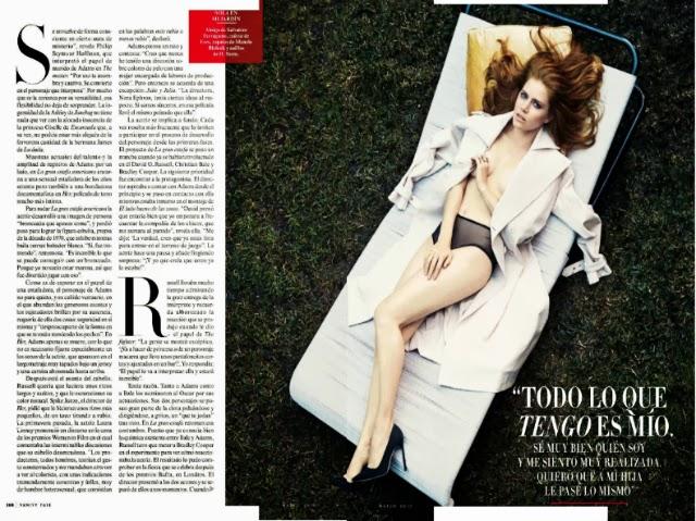 Amy Adams en Vanity Fair España marzo 2014