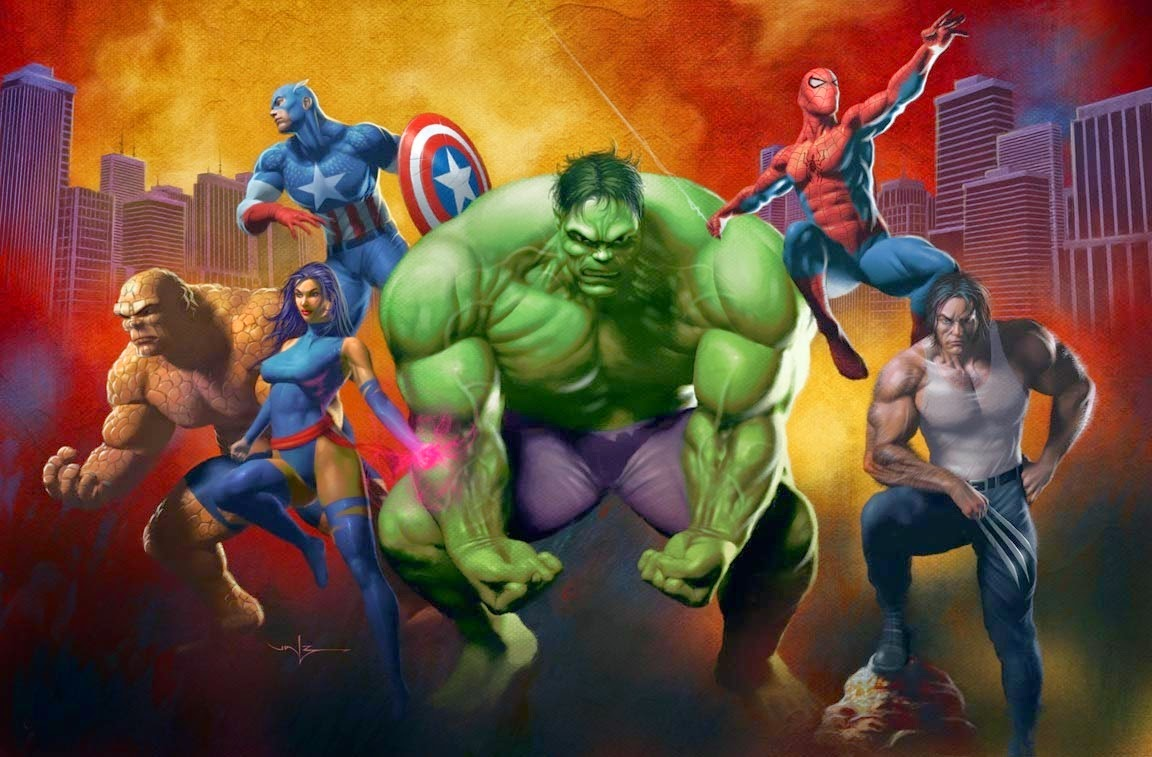 marvel heroes new hd wallpapers wallpapers