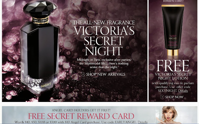Victorias Secret new NIGHT products online (free lotion)