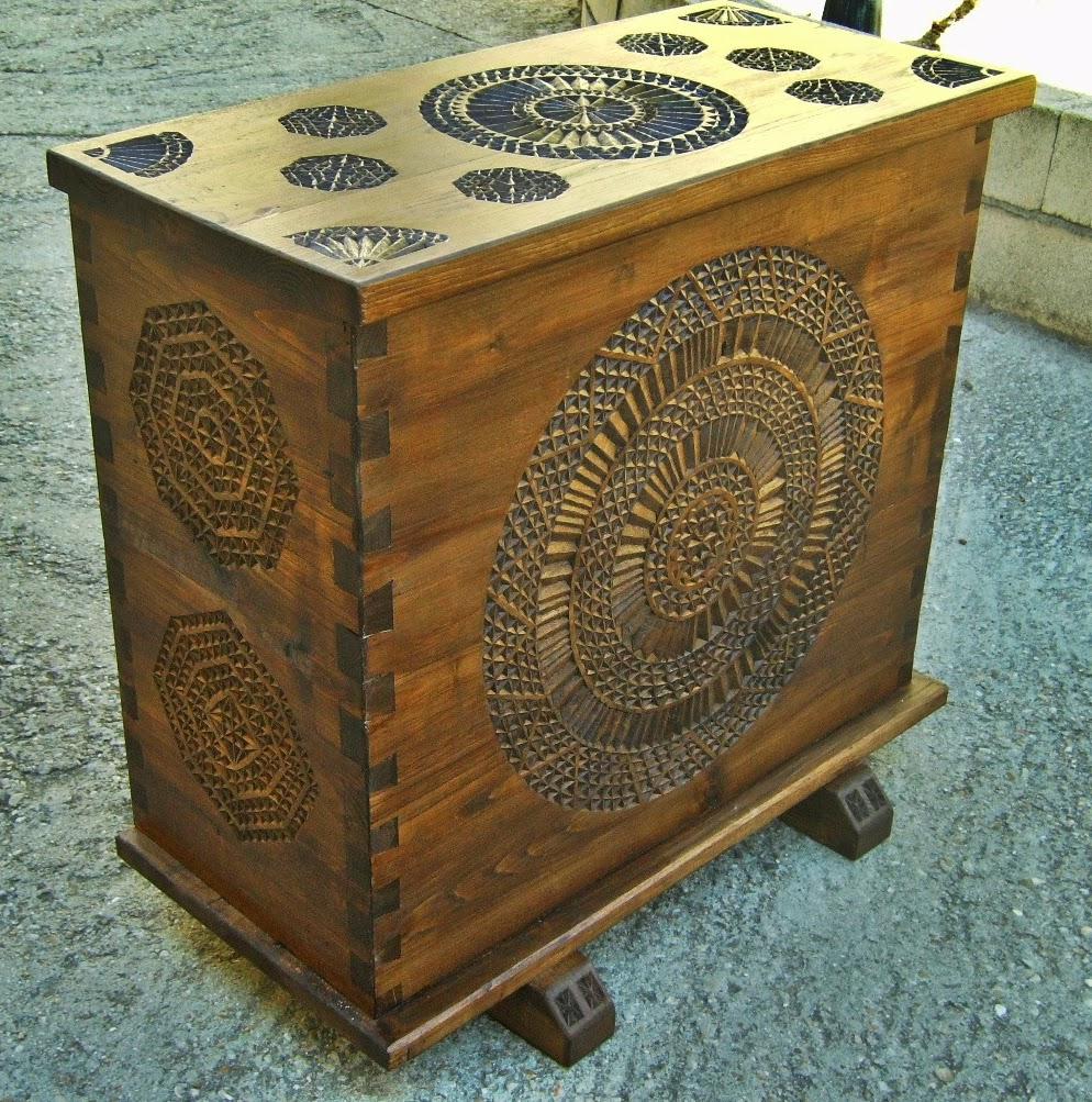 Ba l de madera una pieza maestra - Baules de madera baratos ...