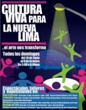 CULTURA VIVA PARA LA NUEVA LIMA - 2011