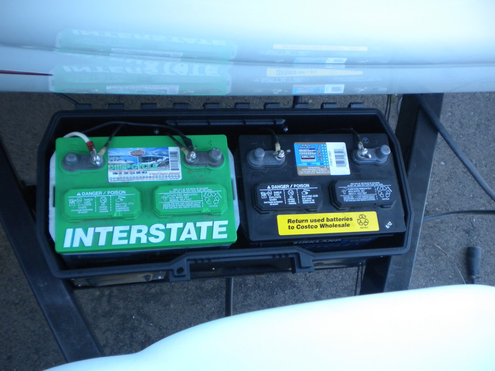 Our RV Adventures Modification Adding a Second House Battery
