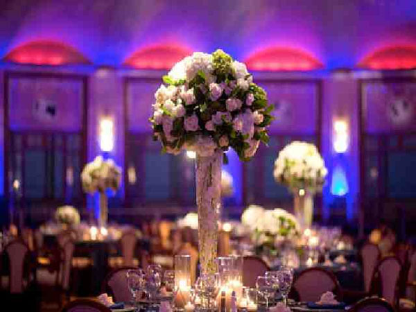 Oustanding Tall Wedding Centerpieces