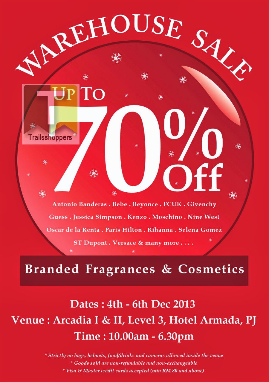 Brands offered at Fragrances N Cosmetics Sale include Givenchy