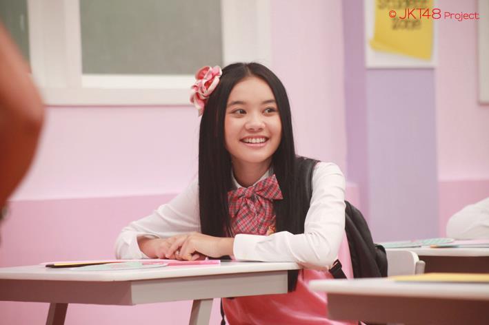 Cleo at JKT48 school