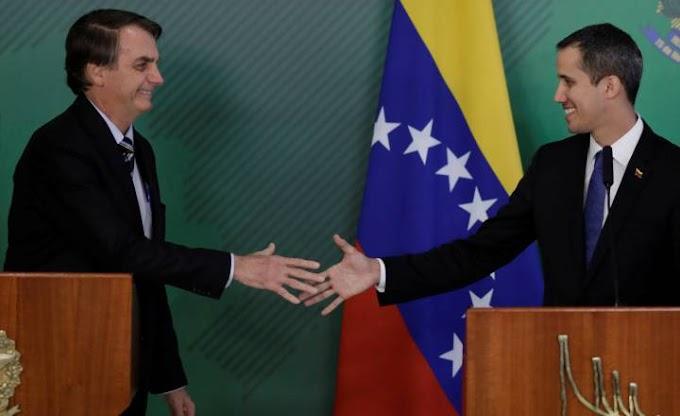 "Venezuela: as últimas notícias da crise política, ao vivoBolsonaro junto a Guaidó: ""Essa esquerda gosta tanto de pobres que acabou multiplicando-os"""