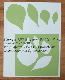 Stampin'UP!'s Blossom Builder Punch
