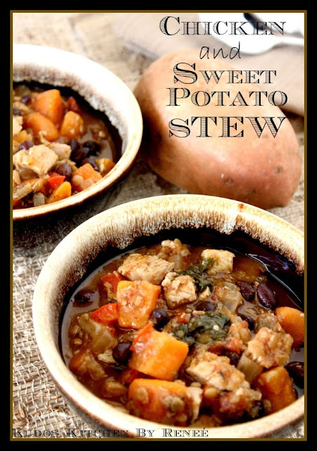 Slow Cooker Chicken and Sweet Potato Stew Recipe