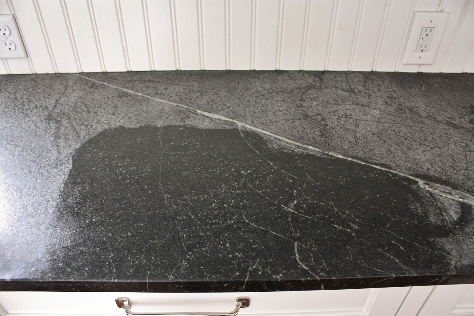 for the of a house: Soapstone... Grey Soapstone Countertops on grey crushed granite, grey ceramic countertops, home depot formica countertops, granite countertops, quartz countertops, white countertops, grey black countertops, grey stone countertops, grey marble, slate countertops, lowe's bathroom cabinets and countertops, grey samples, grey quartz, grey wood countertops, grey bathroom countertops, grey limestone countertops, grey corian, grey obsidian countertops, gray marble countertops, grey leather granite,