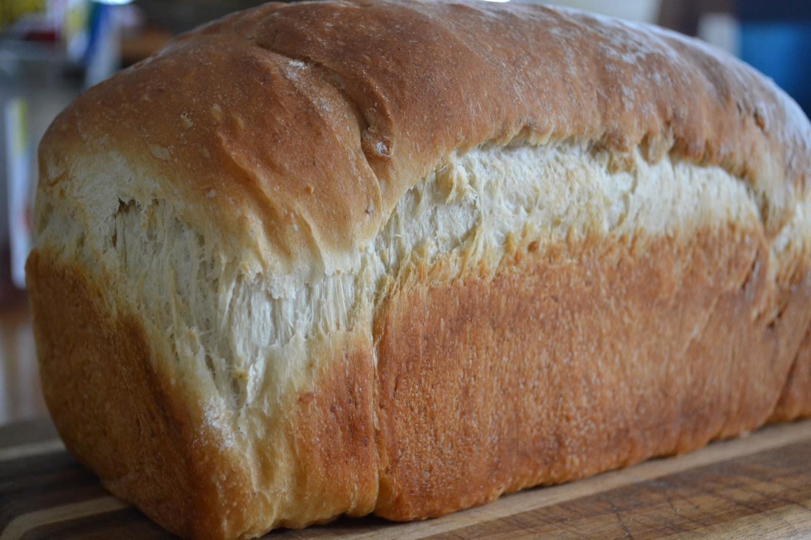 Mom's Fridge: Honey-Oat Bread (Secret Recipe Club)