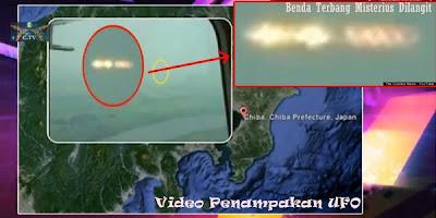 Video Penampakan UFO Jepang Dihapus dari YouTube