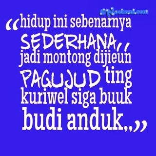 Gambar DP BBM Kata-Kata Bahasa Sunda Lucu