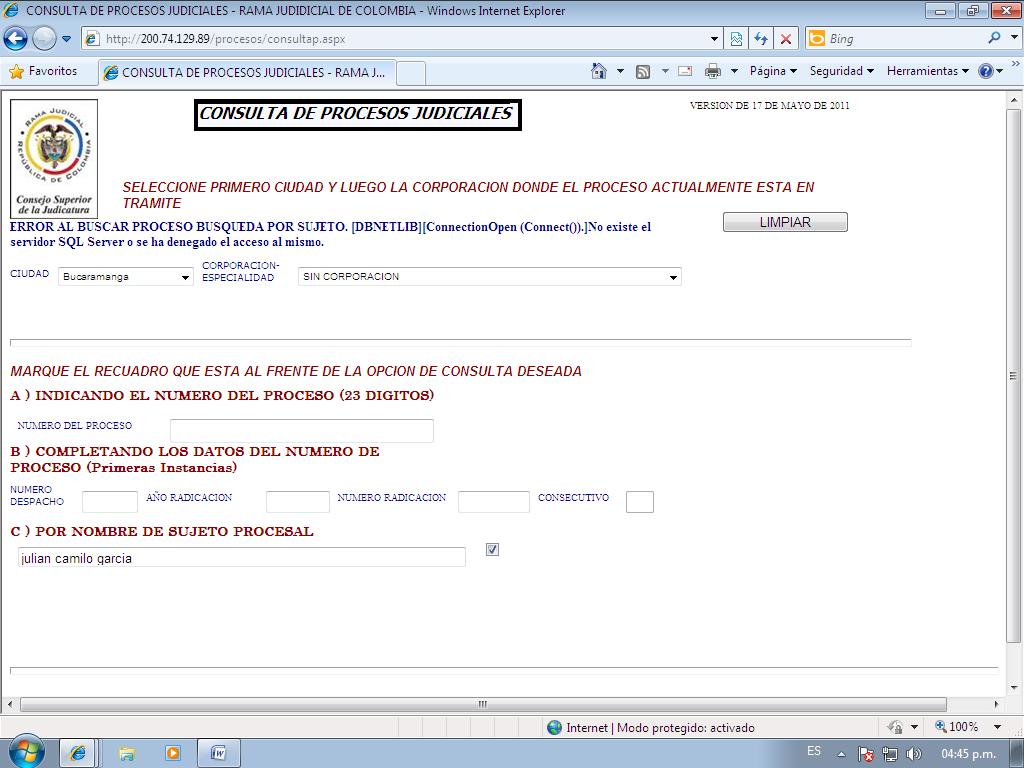 Home » Www Ramajudicial Gov Co Consulta De Procesos Judiciales