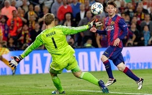 Another Messi masterclass made Barcelona favourites to win the European Cup