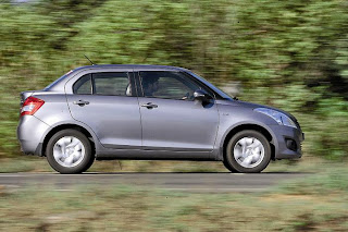 New Maruti Swift Dzire Zdi side view