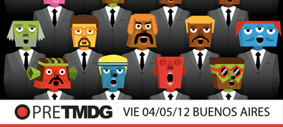 PRE TMDG Viernes 04/05/2012 en el CMD, Buenos Aires