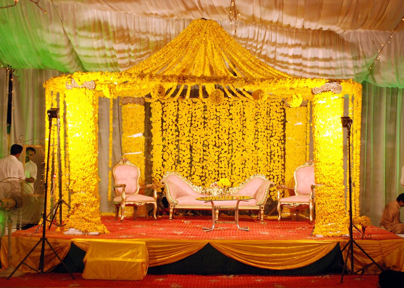 Mehndi Decoration Hall : The floral arts mehndi event johar town