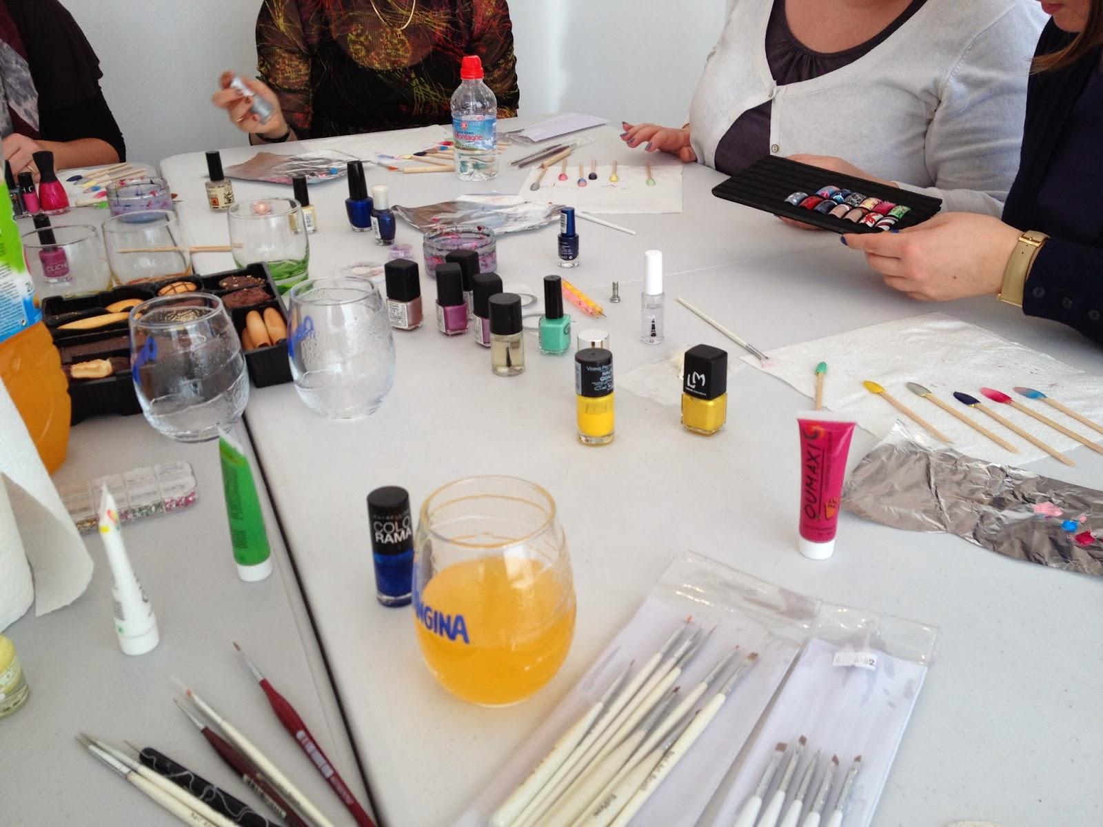 Ateliers nail art Décembre et Janvier18