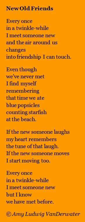 New friendship poems