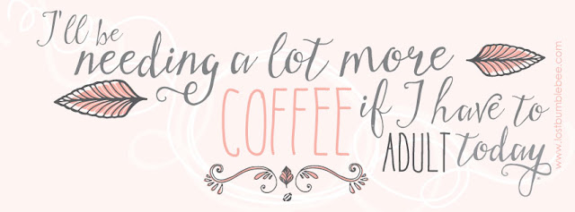 LostBumblebee ©2015 MDBN : FACEBOOK COVER IMAGE : COFFEE ADULT : FREE FOR PERSONAL USE !