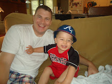Beau and Daddy~ July 2011