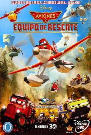 aviones 2 Aviones 2  Equipo de rescate [2014] [DvdRip] [Latino]
