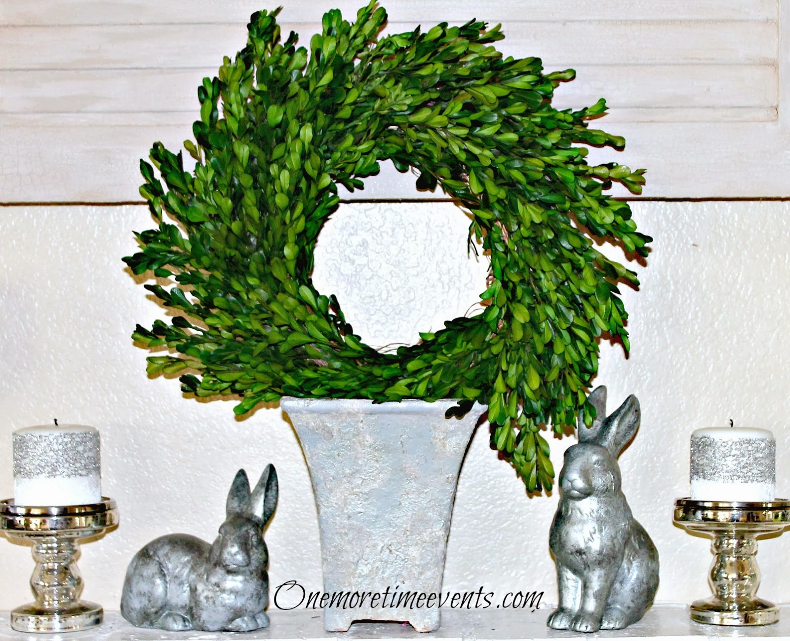 ONE MORE TIME EVENTS - SPRING MANTEL