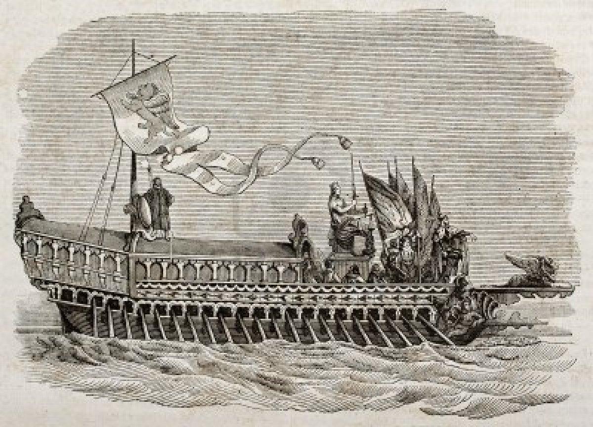 в какую эпоху появилась лодка