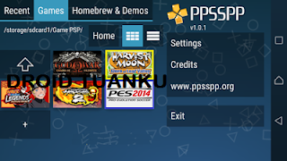Cara Mudah Bermain Game PPSSPP di Android Tanpa Root