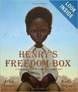 http://www.amazon.com/Henrys-Freedom-Box-Underground-Railroad/dp/043977733X/ref=sr_1_1?ie=UTF8&qid=1393783500&sr=8-1&keywords=henry%27s+freedom+box