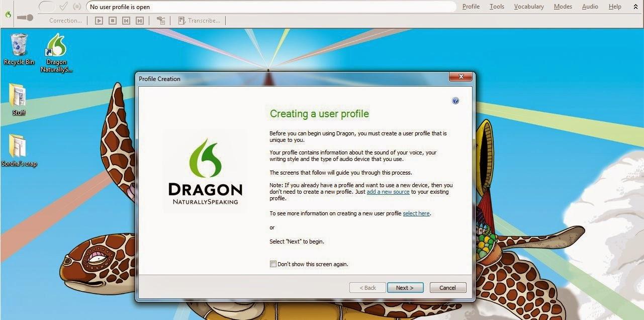 Dragon Naturally Speaking 10 programa para escribir por voz en word