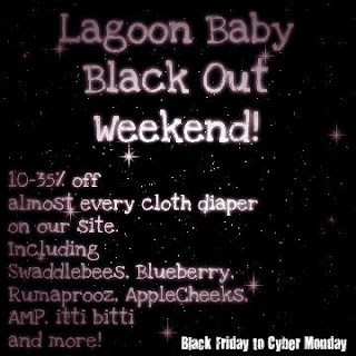 Cloth Diaper Sales Canada on Black Friday