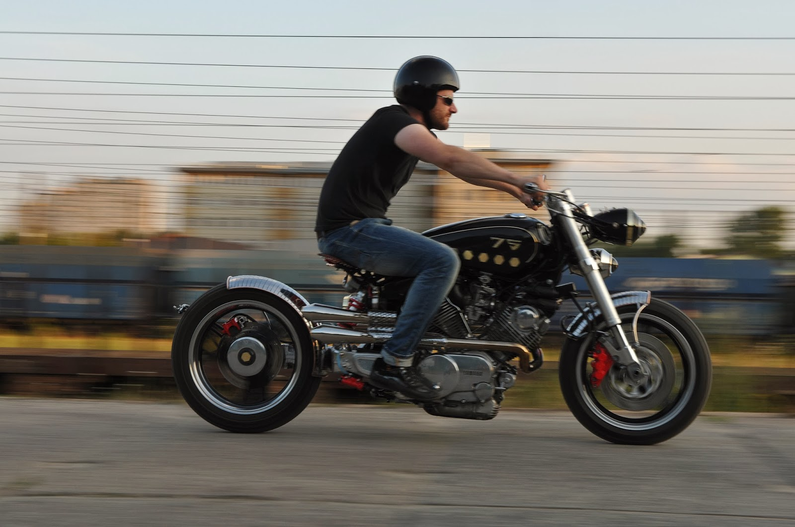 Yamaha Virago Bobber | Custom Yamaha XV750 | Custom Yamaha Virago 750 | Yamaha Virago Bobber parts | Yamaha XV750 Bobber | Custom Yamaha Virago Bobber by Wojtek Spyra | way2speed.com