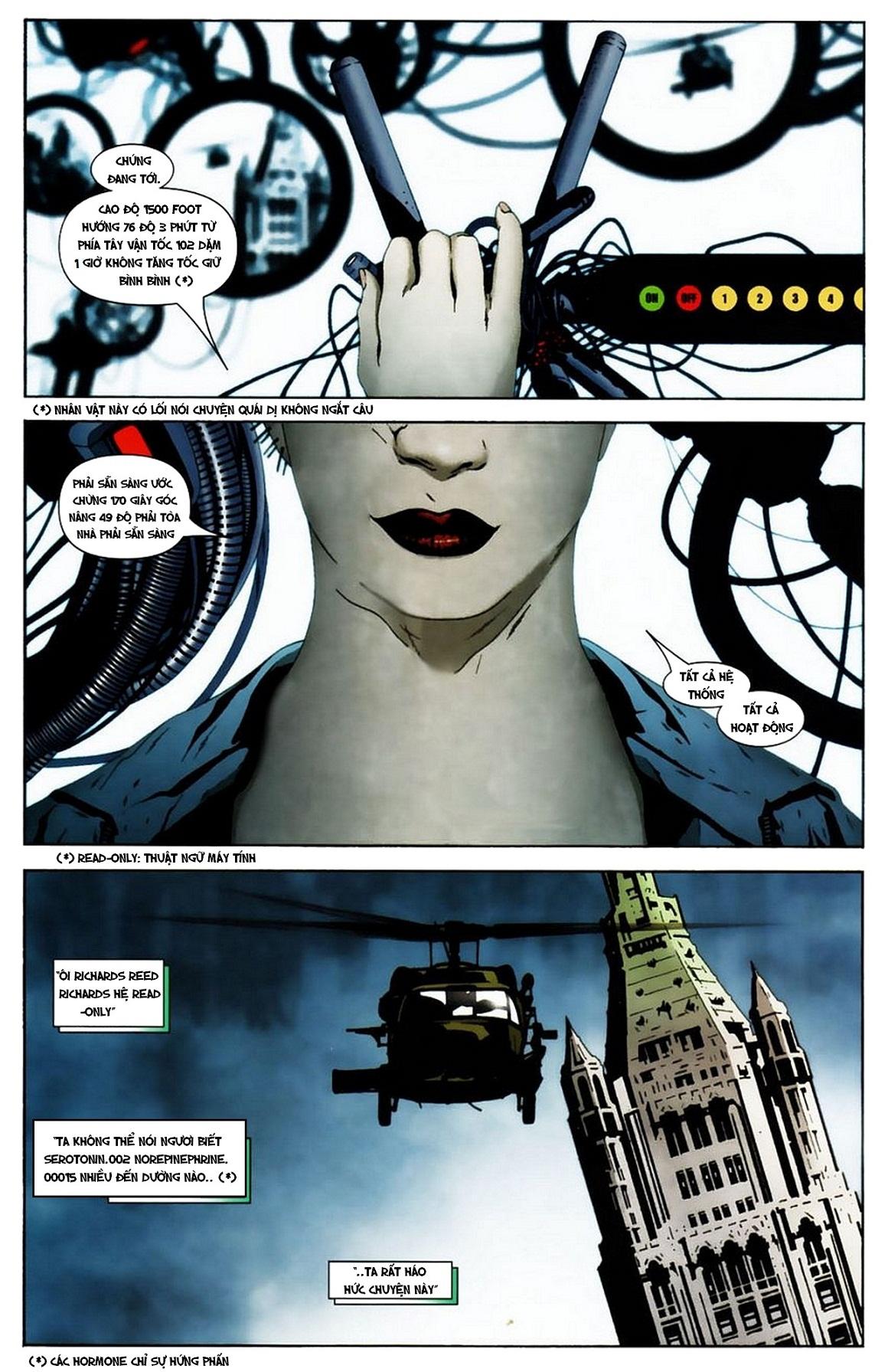 Ultimate Fantastic Four chap 19 - Trang 4