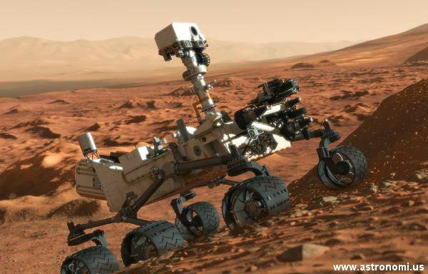 Begini Cara NASA Berkomunikasi dan Mengendalikan Robot Curiosity di Mars
