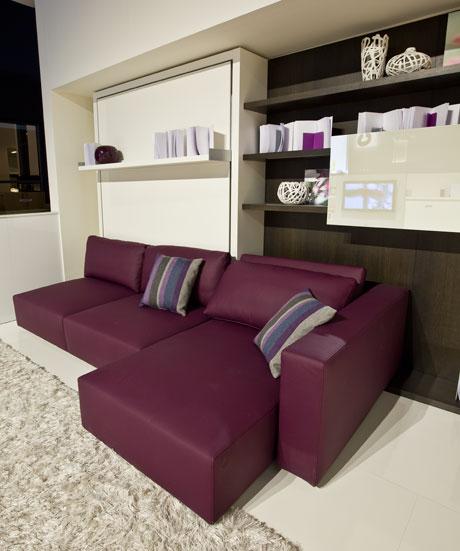 X casas decoracion x muebles 3 en 1 armario empotrado for Sofas modernos para espacios pequenos