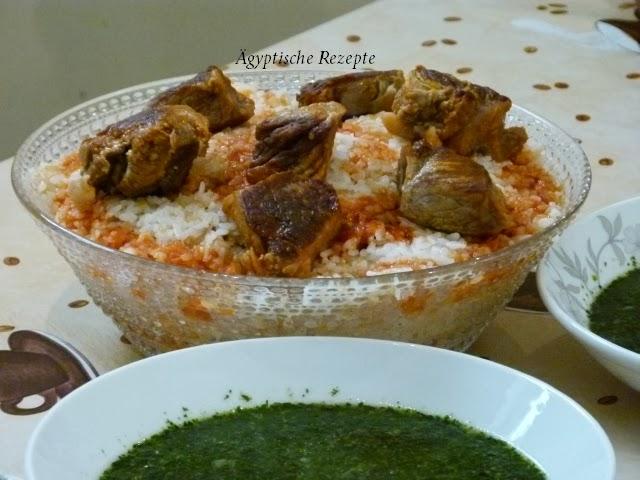 Fatta aus Reis- Ägyptisches Rezept