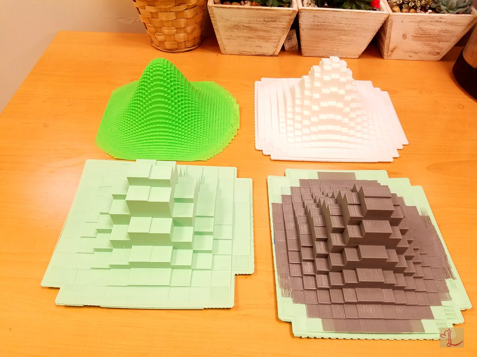 Color printing gmu - This Code Was Created By Mae Markowski In Mathematics Through 3d Printing Taught By Dr Evelyn Sander In Spring 2016 And Printed At The Math Makerlab
